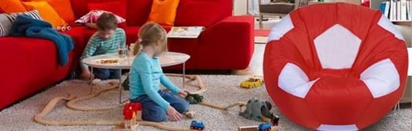 Кресла в форме мяча