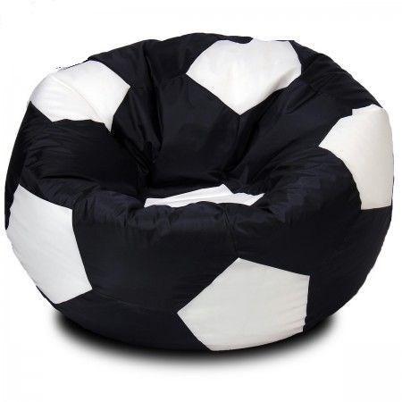 Кресло мяч из Нейлона XXL черно-белый - фото 4494