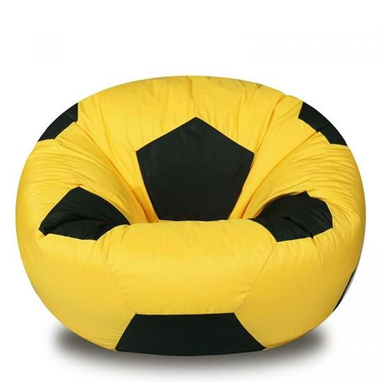 Кресло Мяч из Нейлона XXL желто-черный - фото 4735