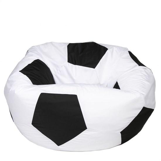 Кресло Мяч из Нейлона XXL бело-черный - фото 4736
