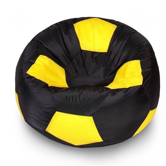 Кресло Мяч из Нейлона XXL черно-желтый - фото 4740