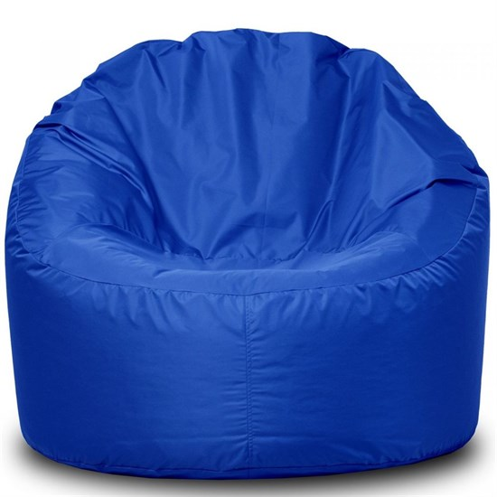 Мягкий пуф мешок Синий - фото 4748