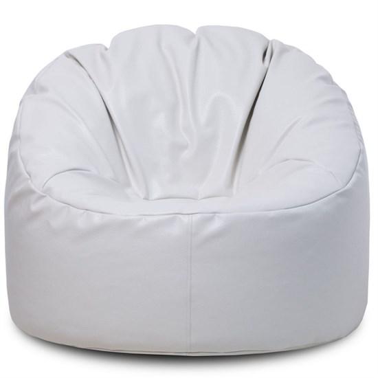 Мягкий пуф мешок Белый - фото 4756