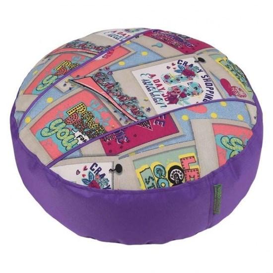 Пуфик детский Дримс фиолетовый 55*25 - фото 4787