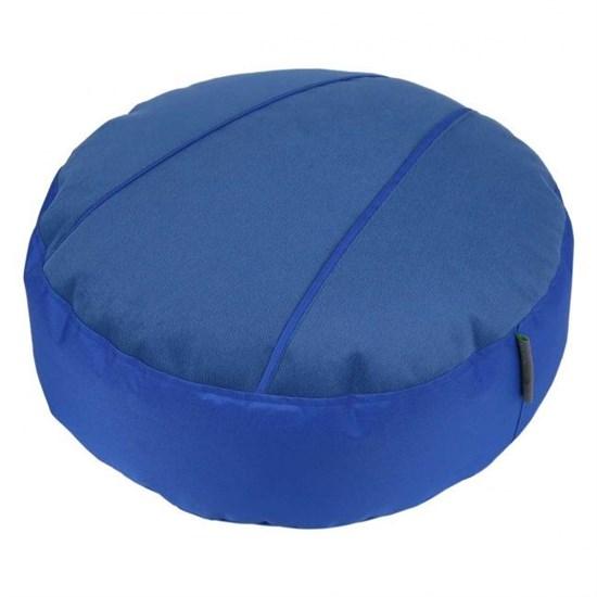Пуф для ног Велюр синий 55*25 - фото 4788