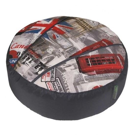 Пуфик для ног Лондон серый - фото 4791