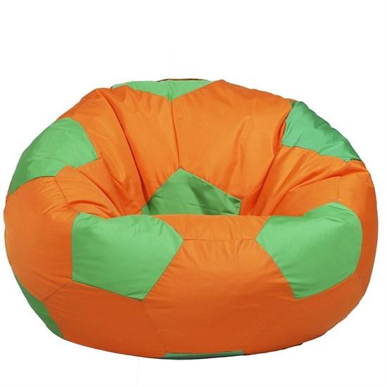 Кресло Мяч из Нейлона XXL оранжево-зеленый - фото 4818
