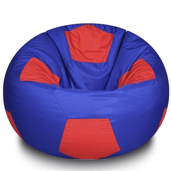 Кресло Мяч из Нейлона XXL сине-красный - фото 4819