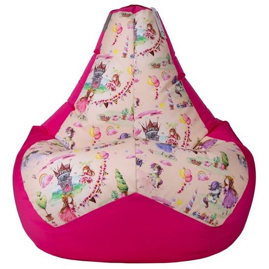 Кресло-мешок Принцесски розовый XL - фото 4883