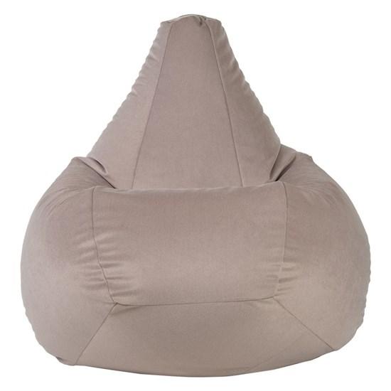 Кресло-мешок из Велюра бежевый XXL - фото 4929