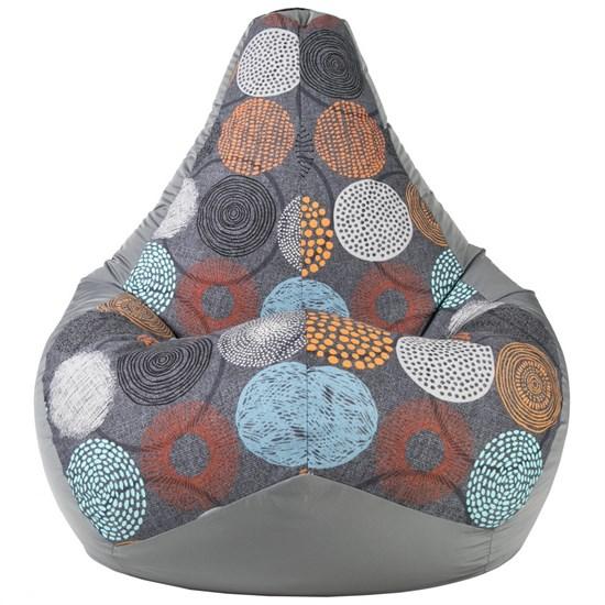 Кресло-мешок Рингс серый XL - фото 4948
