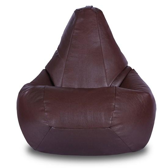 Кресло-мешок из Экокожи коричневый XXL - фото 4983