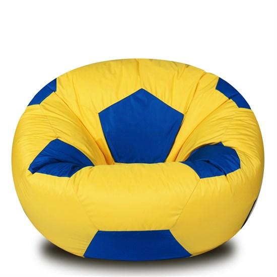 Кресло-мяч из Нейлона желто-синий XXL - фото 5076