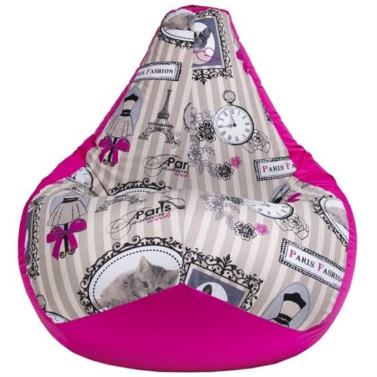 Кресло-мешок Мэри розовый XL - фото 5172