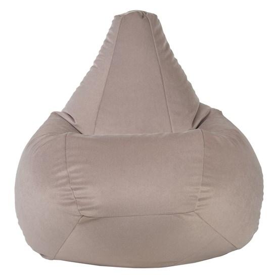 Кресло-мешок из Велюра бежевый XL - фото 5183
