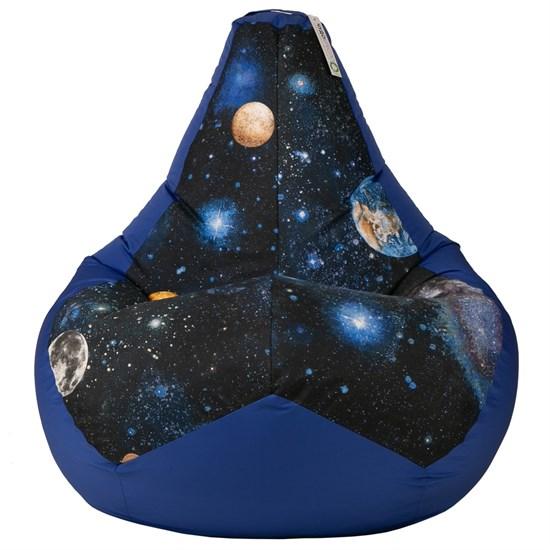 Кресло-мешок Космос синий XXL - фото 5276