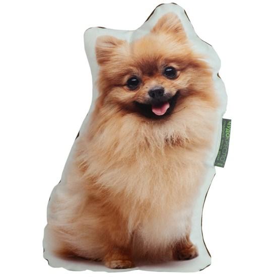 Декоративная подушка Шпиц 40*30 см - фото 5344