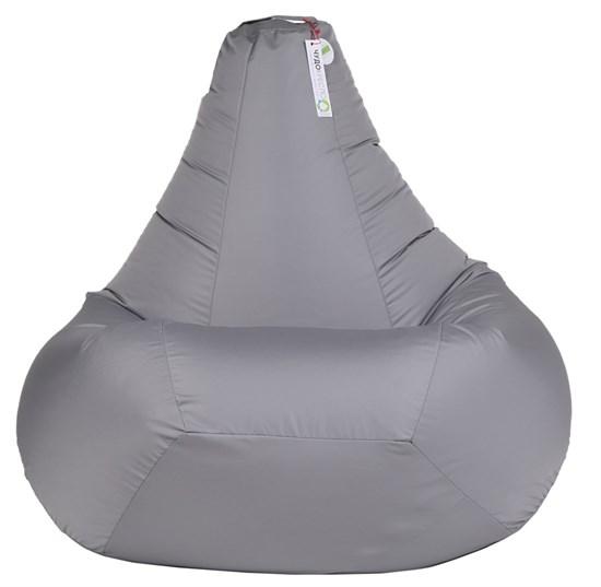 Кресло-мешок-груша из Нейлона серый XL - фото 5496
