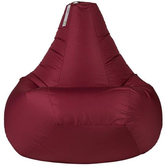 Кресло-мешок-груша из Нейлона бордовый XXL - фото 5540