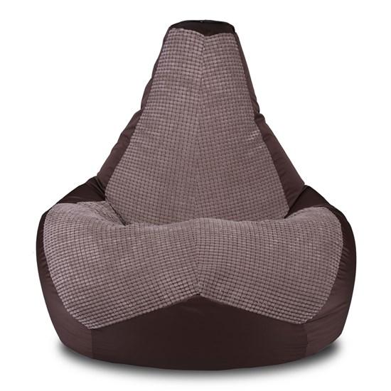 Кресло-мешок-груша Сенс коричневый XXL - фото 5549