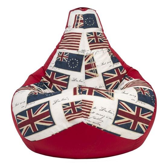 Кресло-мешок-груша Флаги красный XL - фото 5623