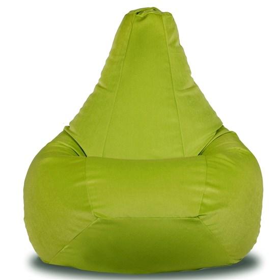 Кресло-мешок-груша из Велюра салатовый XXL - фото 5640