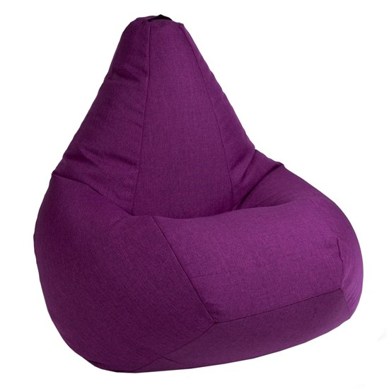 Кресло-мешок-груша Жаккард Фуксия XXL - фото 5679