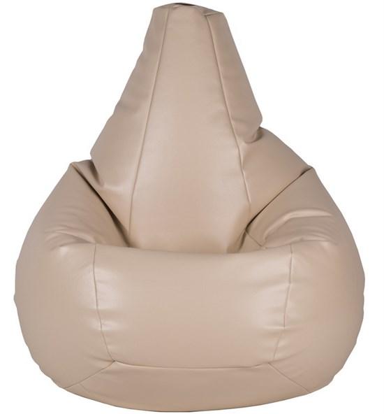Кресло-мешок-груша из Экокожи бежевый XXL - фото 5773