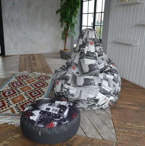 Кресло-мешок-груша Честер XXL - фото 5806