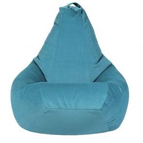 Кресло-мешок из Велюра бирюзовый XL