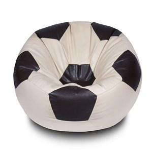 Кресло-мяч из Экокожи бежево-коричневый XXL
