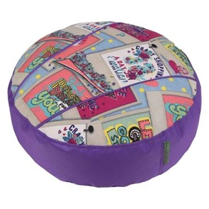 Пуфик детский Дримс фиолетовый 55*25