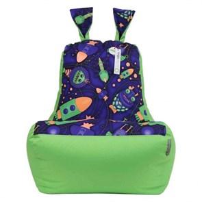 Кресло-ушастик Космостарс cалатовый XL