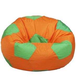 Кресло Мяч из Нейлона XXL оранжево-зеленый