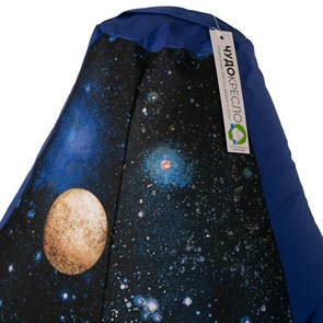 Кресло-мешок-груша Космос синий XXL - фото 4867