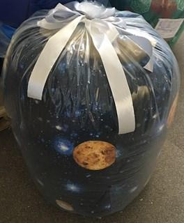 Кресло-мешок-груша Космос синий XXL - фото 4868