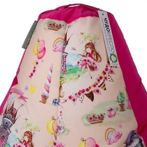 Кресло-мешок Принцесски розовый XL - фото 4881