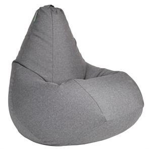 Кресло-мешок-груша из Жаккарда серый XXL - фото 4938