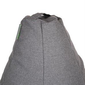 Кресло-мешок-груша из Жаккарда серый XXL - фото 4939