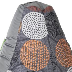 Кресло-мешок-груша Рингс серый XL - фото 4950