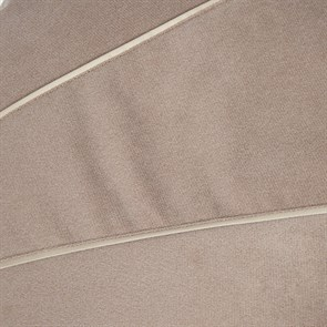 Пуф для ног Велюр бежевый 55*25 - фото 4961