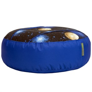 Пуф для ног Космос синий 55*25 - фото 4962