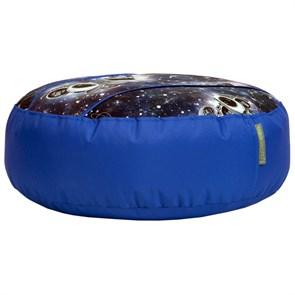 Пуфик детский Космопузики синий 55*25 - фото 4964