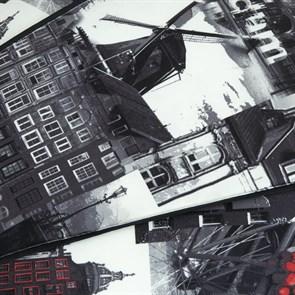 Пуф для ног Амстердам черный 55*25 - фото 4971