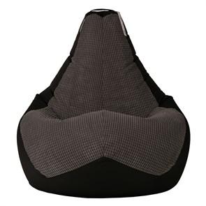 Кресло-мешок Сенс черный XXL