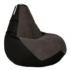 Кресло-мешок-груша Сенс черный XXL - фото 4994