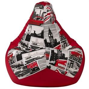 Кресло-мешок Ягуар красный XL