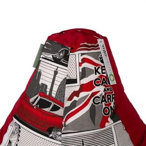 Кресло-мешок-груша Ягуар красный XL - фото 5017