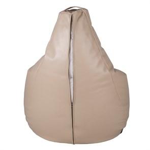 Кресло-мешок-груша из Экокожи бежевый XXL - фото 5060