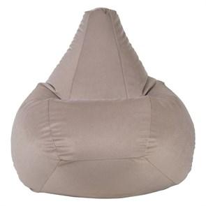 Кресло-мешок из Велюра бежевый XL